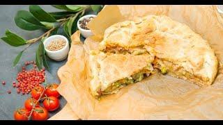 Пирог с горячим «Оливье» | Кухня по заявкам