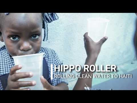 Rolling Safe Water to Haiti
