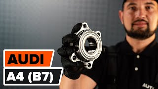 Watch our video guide about AUDI Hub bearing troubleshooting
