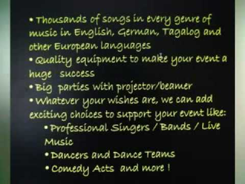 VANITY ON STAGE EVENT MANAGEMENT  - Karaoke Party