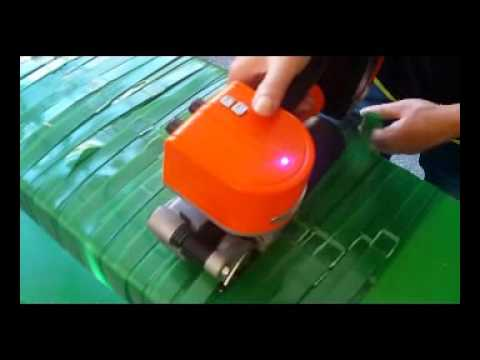 Battery And Electricity Powered Strapping Tool