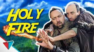 Learning epic spells in games - Holy Fire