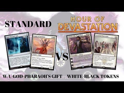Standard – WU God-Pharaoh Gift Vs White-Black Tokens