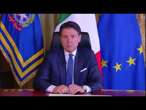 Coronavirus, Conte: 'Chiusi i negozi in tutta Italia' - Il messaggio integrale del premier