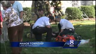 Fire damages Manor Township home