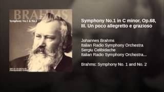 Symphony No.1 in C minor, Op.68, III. Un poco allegretto e grazioso