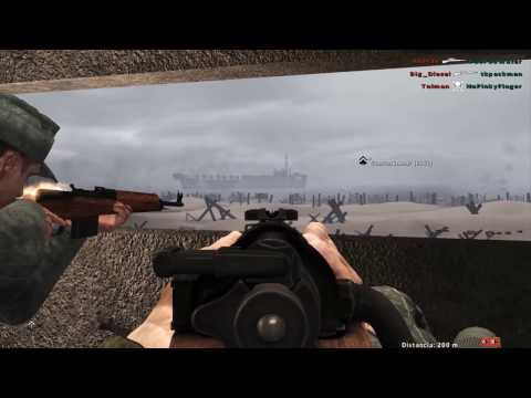 Red Orchestra 2: Heroes of the West mod - Omaha beach German side