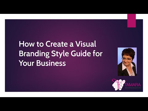 How to Create a Visual Branding Style Guide for Your Business