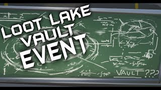 24 HR FORTNITE LOOT LAKE VAULT EVENT - 4TH RUNE APPEARING SOON LIVE COUNTDOWN - CUSTOM ENDGAME CODE