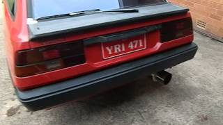 My Cordia Turbo 13 psi
