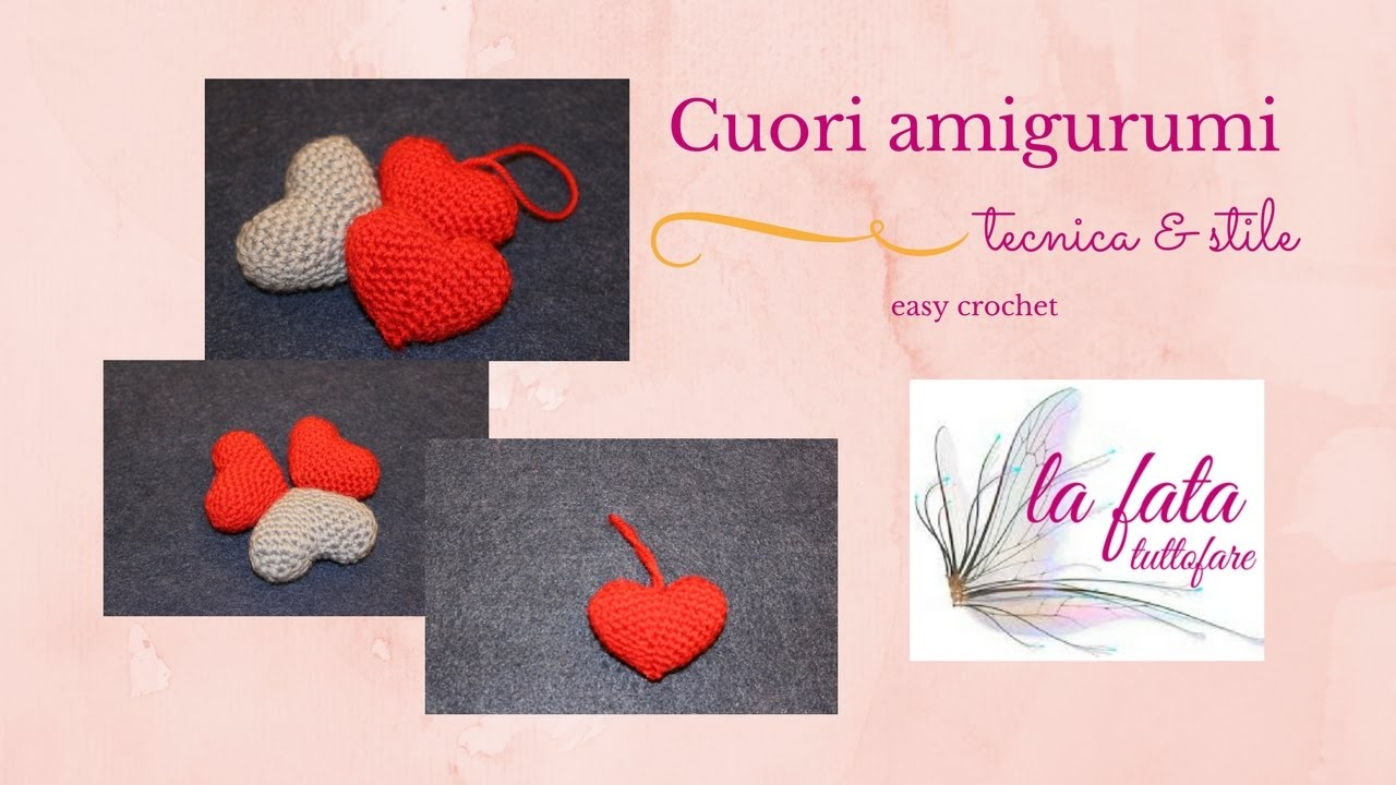 Tutorial Cuore Amigurumi Youtube