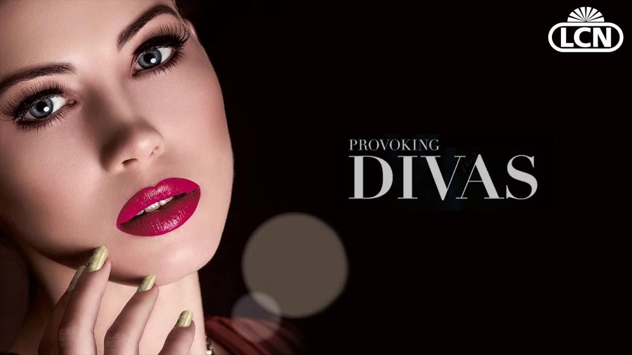 Nail Art Tutorial: Provoking Divas Look - YouTube