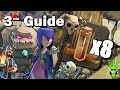 HOW TO 8 QUAKE GOWIWI (bo) - 3 Minute Guide - Clash of Clans TH9 3 Star Strategy Guide (Octo Quake)