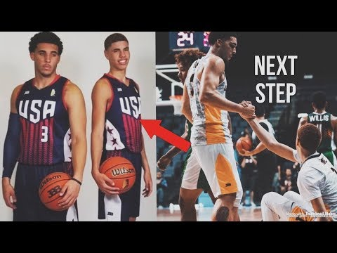 LaMelo & LiAngelo Ball Playing OVERSEAS Once Again! | JBA USA Team & Next Step To The NBA