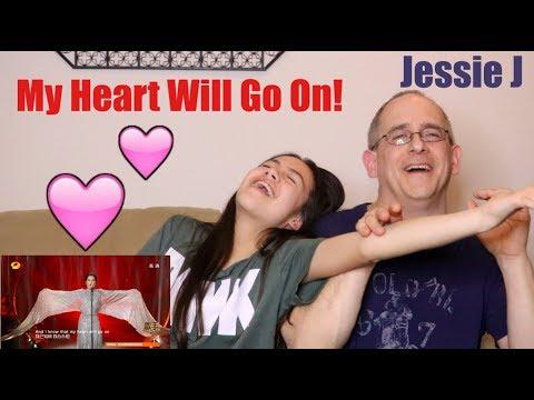 Jessie J - My Heart Will Go On! | Singer 2018 | Episode 9 | REACTION