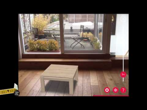 Recor furniture product configurator & wall planner with augmented reality (ENG)