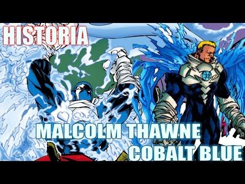 LA HISTORIA DE MALCOLM THAWNE (COBALT BLUE) - El Gemelo Malvado de Flash // Morpho