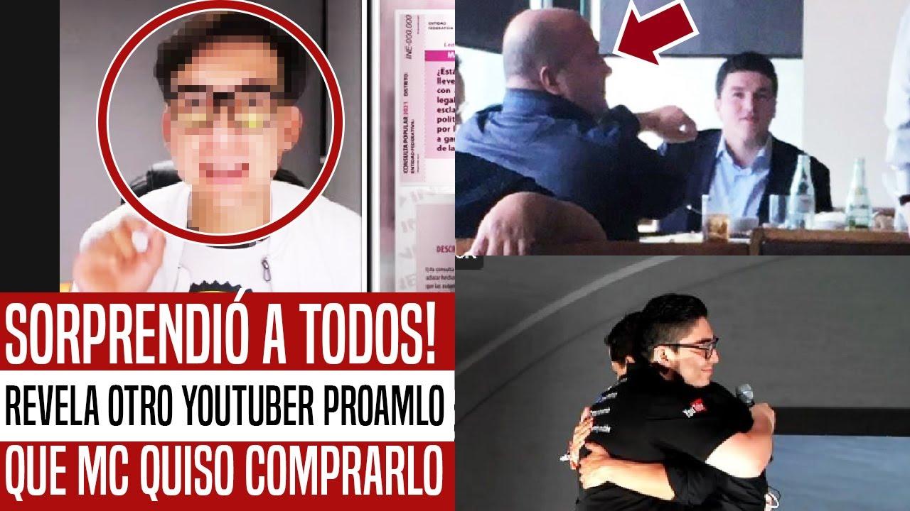 Download SORPRENDIÓ A TODOS! MC QUISO COMPRAR A OTRO YOUTUBER PROAMLO. LE OFRECIERON CHEQUE EN BLANCO. HOY