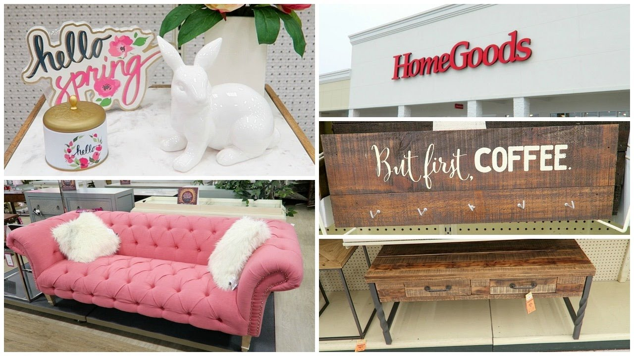 shopping at target, homegoods, hobby lobby for home decor, spring