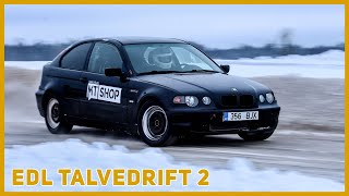 EDL Winter Drift 2 Stage @ Vahakulmu