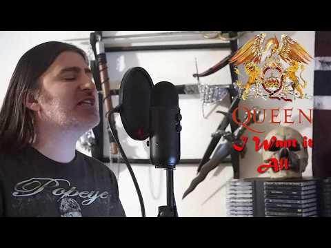"""Queen """" I Want it All """" ( vocal cover )"""