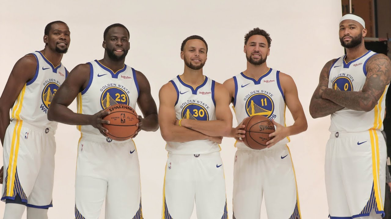 Golden State Warriors NBA Media Day sights and sounds