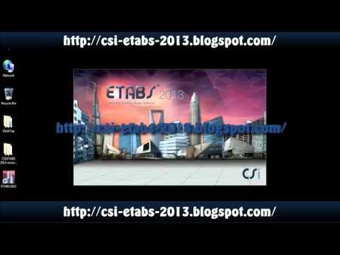 etabs 9.7.4 free  full version
