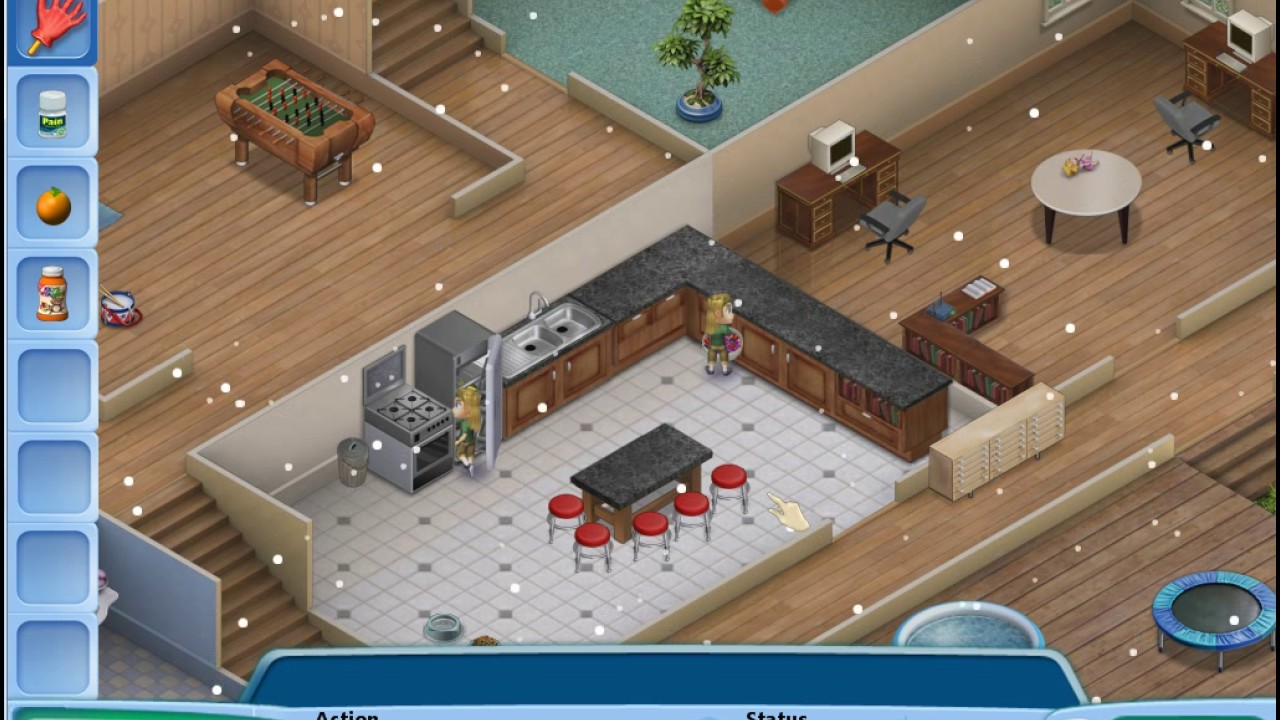 House design virtual families 2 - Virtual Families 2 Gameplay The Dryer Lint Is Burning