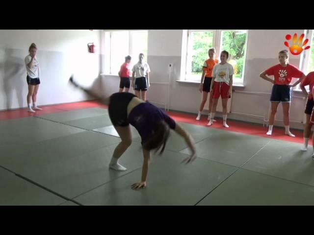 Gimnastyka w Rudce - zgrupowanie OSPR