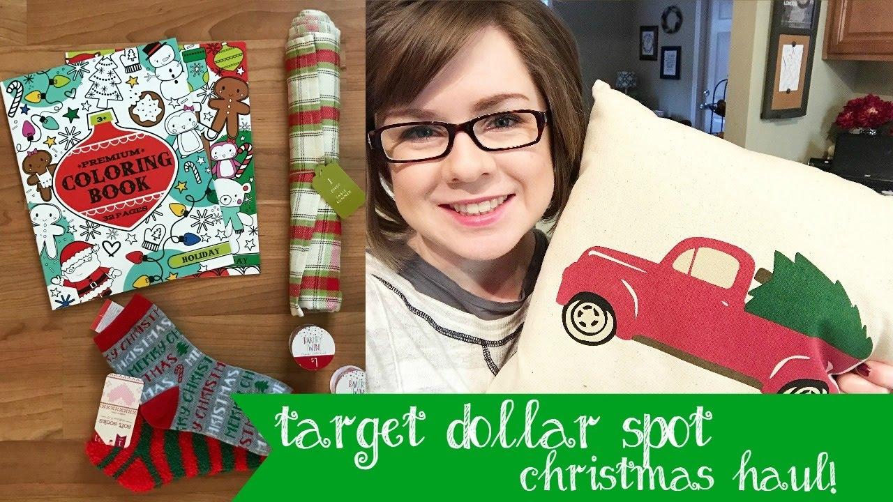 Target Dollar Spot Christmas Haul | Gift Ideas - YouTube