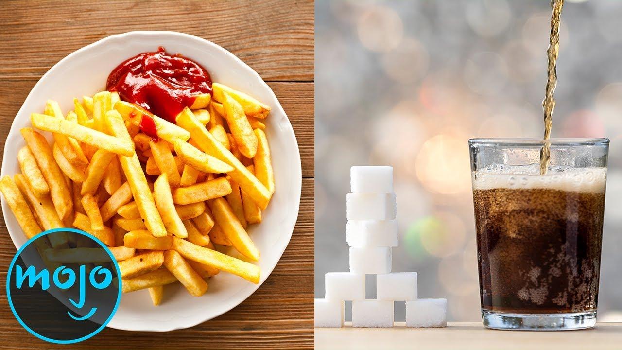 top 10 unhealthy foods