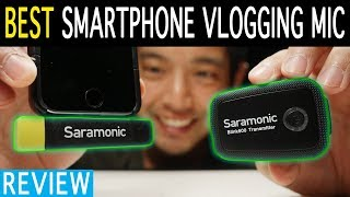 Saramonic Blink500 Apple Android Receiver Review | Best Vlogging Mic | Smartphone Filmmaking