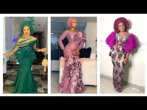 Africa women's party Gowns// Aso Ebi dresses