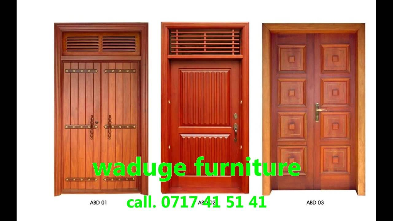 door furniture design. 20 Sri Lanka Waduge Furniture. Doors And Windows Work In Kaduwela. Call. 0717 41 51 - YouTube Door Furniture Design