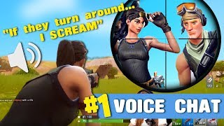 FUNNY VOICE CHAT FORTNITE MOMENTS!