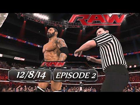 WWE 2K15 - Raw (Episode 2) - Universe [HD] - PS4