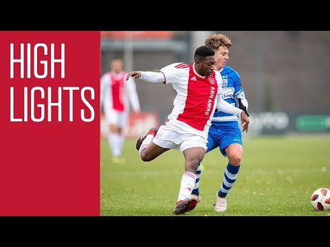 Highlights Ajax O17 - PEC Zwolle O17