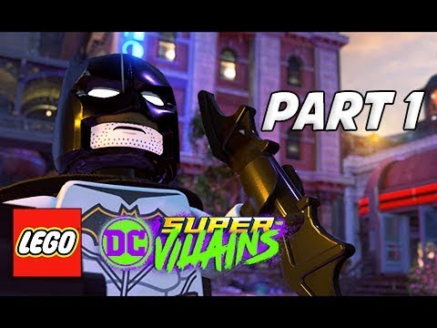 LEGO DC Super Villains Walkthrough Gameplay Part 1 - FIRST HOUR!!! & Intro (Let's Play Commentary)