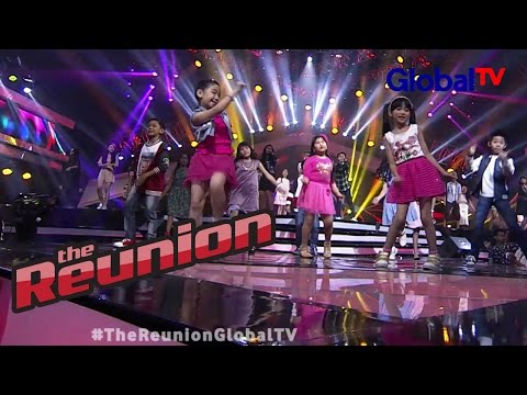 """All Finalis The Voice Kids Indonesia """"Lean On"""" 