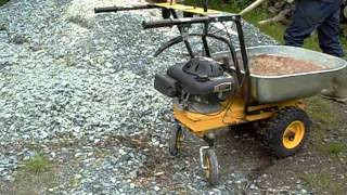 Powered Wheelbarrow