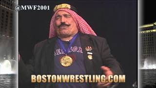 (MATURE) Roddy Piper Memories: The Iron Sheik : BW Wrestling Insiders #151 (Boston Wrestling)