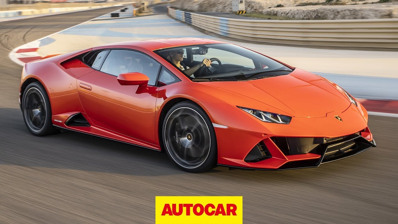 2019 Lamborghini Huracan Evo Review 631bhp Supercar Track Tested