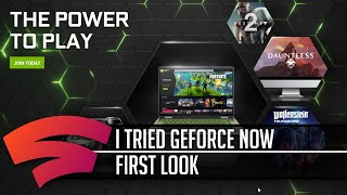 What is GeForce Now like?