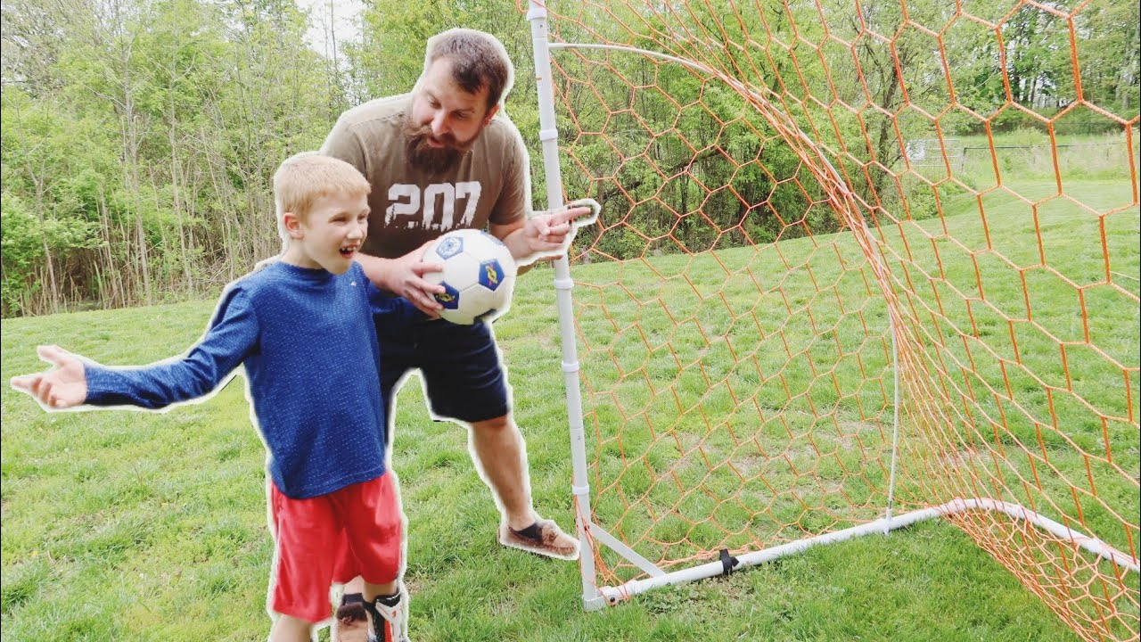 Download Putting Together Primed 12x6 Soccer Goal | Can he do it???