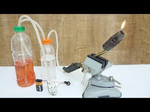 Как сделать бензин из газа в домашних условиях