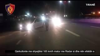 Qarkullonte në autostradën Tiranë - Durrës me shpejtësi dhe nën ndikimin e alkoolit