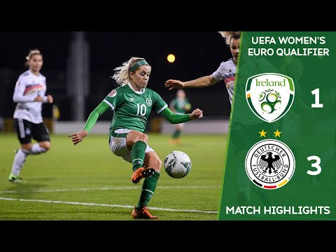 #IRLWNT HIGHLIGHTS | Ireland 1-3 Germany - UEFA Women's Euro 2022 Qualifier