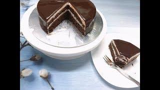 Cách làm BÁNH SOCOLA HẠNH NHÂN kem tươi - how to make ALMOND CHOCOLATE CAKE - Bill cakes & drinks