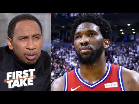 Brett Brown, Sixers' coaching staff to blame for Joel Embiid's post play - Stephen A. | First Take