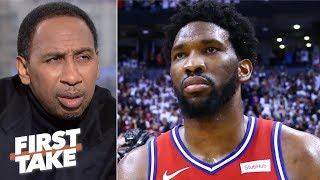 Download Brett Brown, Sixers' coaching staff to blame for Joel Embiid's post play - Stephen A. | First Take Mp3 and Videos